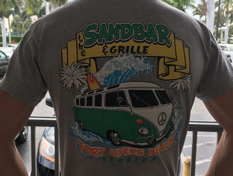 Sandbar & Grille T-shirt Merchandise